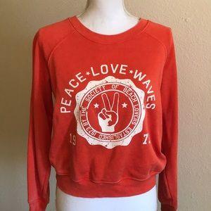 Women's Billabong Crew Neck Sweatshirt Size Medium